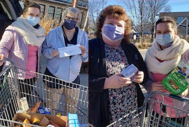 Food Donation Community Involvement Carousel