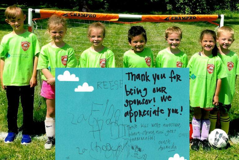 Soccer Sponsor Community Involvement Carousel